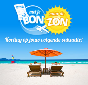 Euroscoopticket korting op vakantie