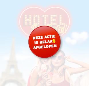 Hoteldebotel win een valentijn trip voor twee