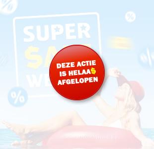 Super Sale Weken | Extra voordeel op jouw volgende vakantie!