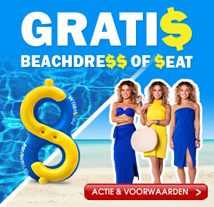 Gratis Seat of Beachdress bij alle servicepakketten