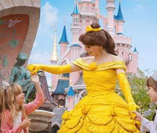 Belle van Belle en het Beest in Disneyland