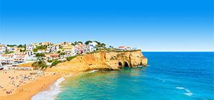 Kustlijn van de Algarve