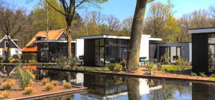 Luxe vakantiehuizen aan het water van Droomparken Hooge Veluwe