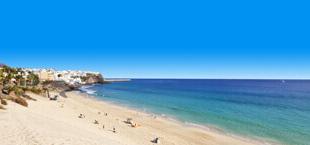Strand en zee op Fuerteventura