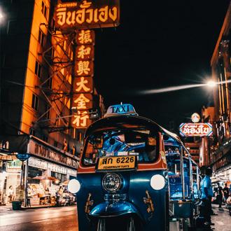 Bangkok Thailand Tuk Tuk