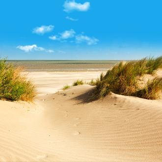 Strand en duinen bij Knokke Heist