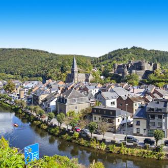 La Roche aan de Ourthe in Belgie