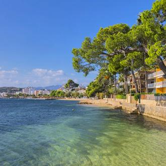 Boulevard Port de Pollenca, Mallorca