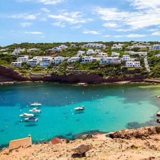 Cala Morell op Menorca, Spanje