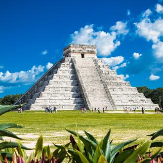 Chichen Itza tempel in Mexico