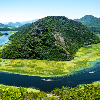 Crnojevica rivier, Montenegro