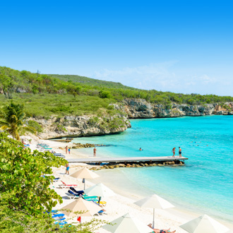 Porto Marie strand op Curacao