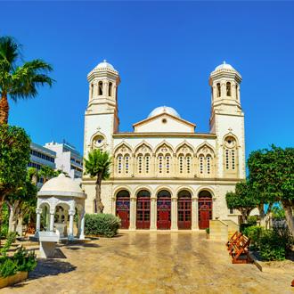 Kathedraal in Aya Napa, Limasol, Cyprus