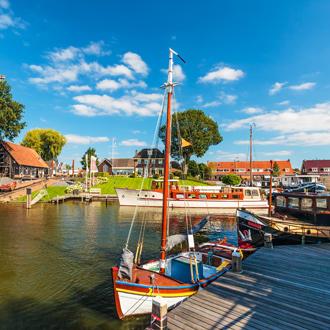 De-oude-haven-van-Harderwijk