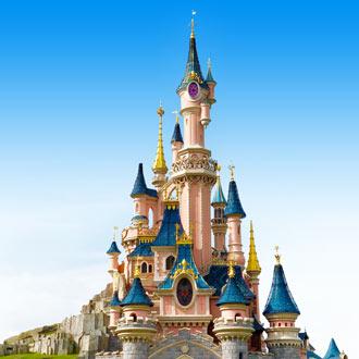 Kasteel bij Disneyland Parijs