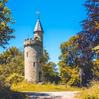 Duitsland-Toren-dichtbij-Hoxter-in-Weserbergland
