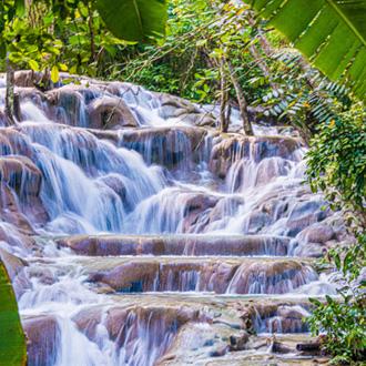 Dunns Watervallen in Ocho Rios, Jamaica