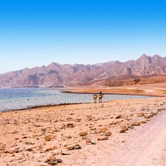 Het blauwe gat in Dahab