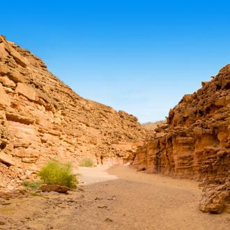 Woestijn in Dahab