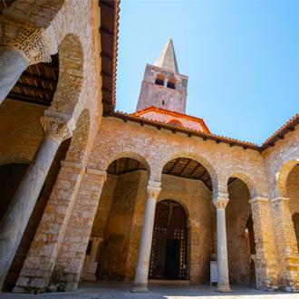 Euphrasian Basilica in Porec, Kroatië