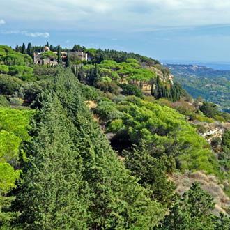 Filerimos berg in Ialyssos Rhodos