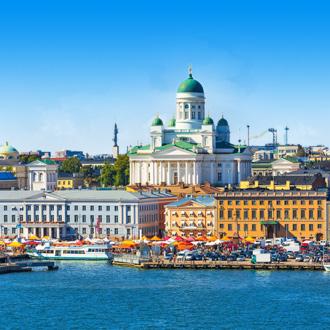 De pier in Helsinki, Finland