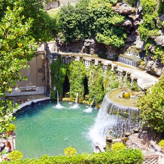 Fontein in Tivoli Rome