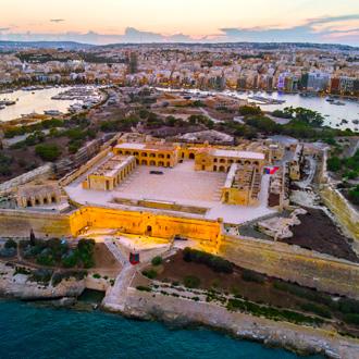 Fort Manoel op Manoel Island, Sliema, Malta