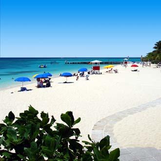 Foto van het strand in Montego Bay