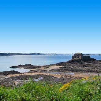 Saint-Malo aan het noorden van Bretagne in Frankrijk