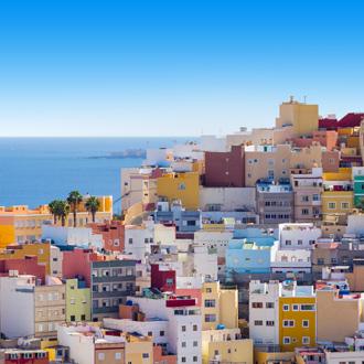 pittoreske huizen in Las Palmas
