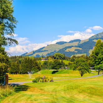 Golfbaan in de omgeving van Kirchberg
