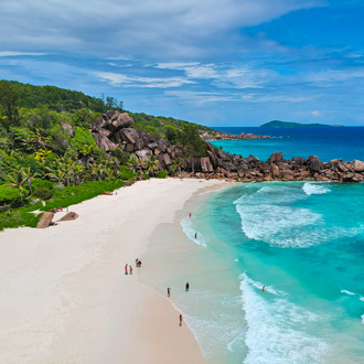 Grand Anse beach Grand Anse Seychellen