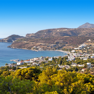 Een dorpje in het westen van Kreta, Agia Marina