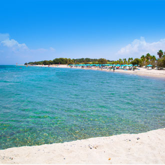 Het strand van Marmari op het Griekse eiland Kos