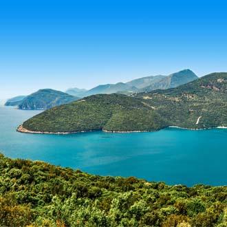 Azuurblauw water in Griekenland