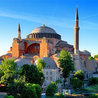 Hagia Sophia moskee in Istanbul, Turkije