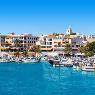 Haven van Cala Ratjada op Mallorca
