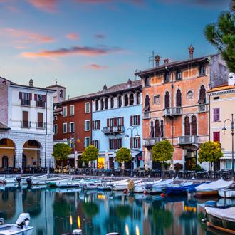 Haven van Desenzano, Gardameer, Italy