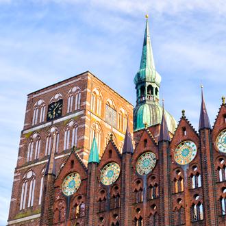 Historisch gebouw Rostock Duitsland