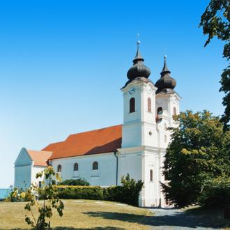Het Benedictine klooster in Tihany