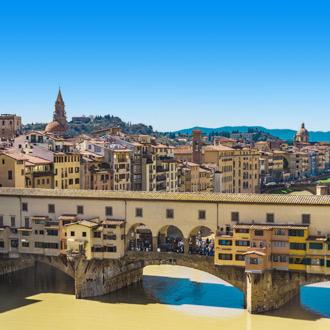 Italiaanse oude brug Ponte Vecchio