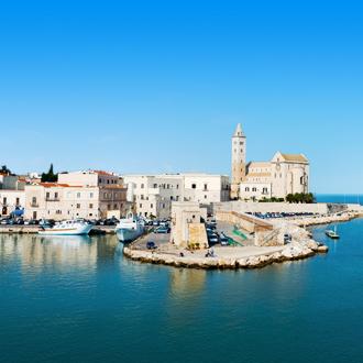 Haven van Giovinazzo in Italie