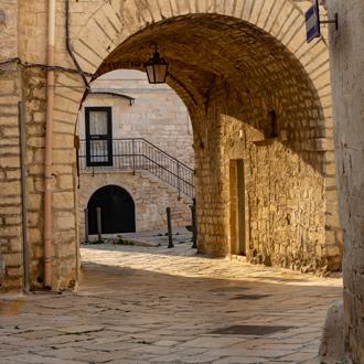 Italiaanse straatjes in Giovinazzo