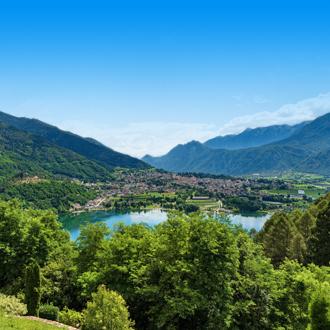 Natuurlandschap van Trentino in Italie