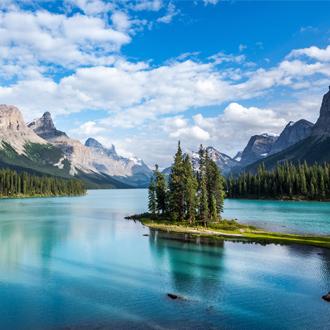 Meer in Jasper National Park Canada