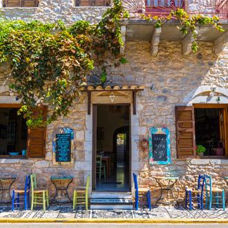 Klein dorpje in Peloponnesos