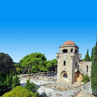 Klooster op Filerimos berg Ialyssos