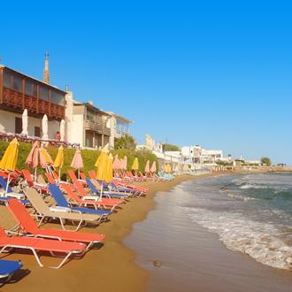 Strand op Kreta