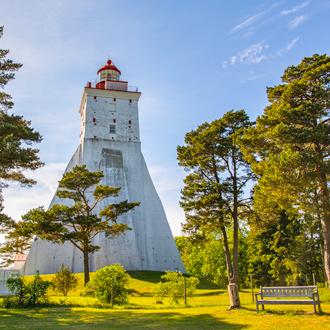 Vuurtoren Kopu Lighthouse in Hiiumaa in Estland